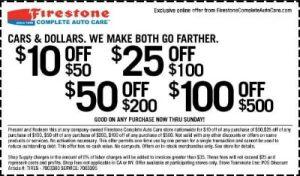 Firestone Coupons