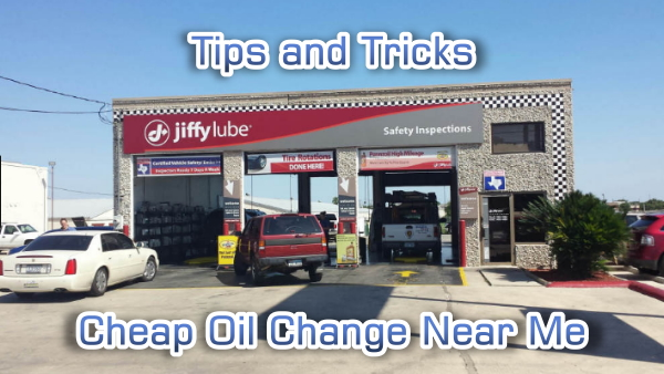 cheap oil change places near me